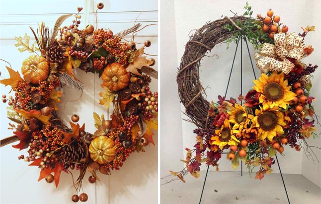 6 Do It Yourself Decorative Fall Wreaths Fall-wreaths